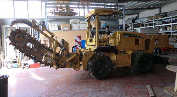 Trencher Usato Vermeer RT1250